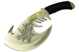 "Hunt-Down  Tactical 11.5""Eagle Axe Stainless Steel Blade Collectible"