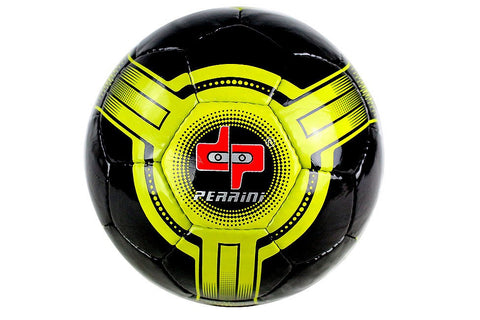Perrini Futsal Official Size 4 Soccer Ball Black and Yellow