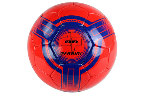 Perrini Futsal Official Size 4 Soccer Ball Red and Blue
