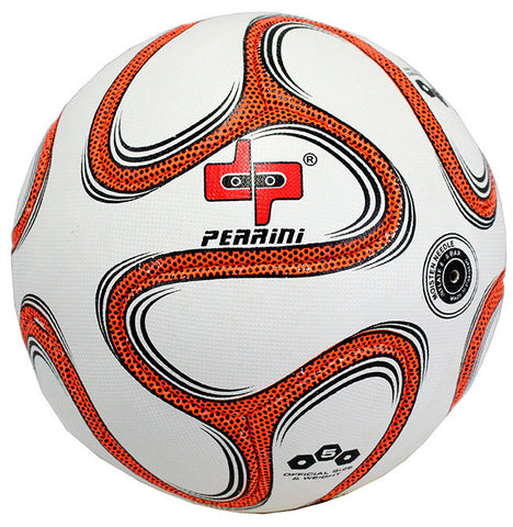 Perrini Official Size 5 Brazuca Soccer Ball Orange