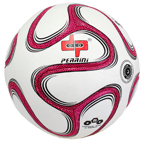 Perrini Official Size 5 Brazuca Soccer Ball Pink