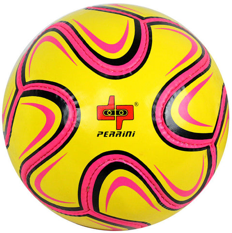Perrini Pink/Yellow/Black Brazuca Soccer Ball Size 5