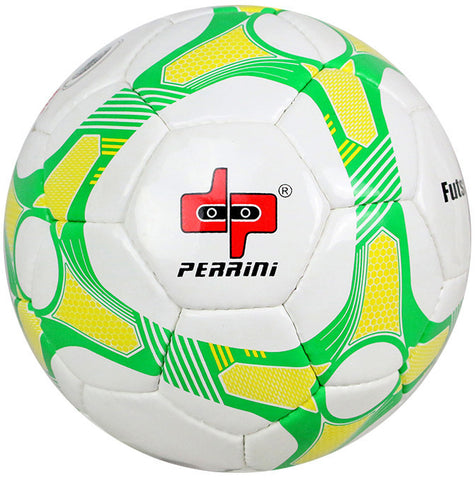 Perrini Green/Yellow/White Soccer Ball Size 5
