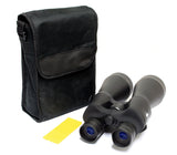 40x60 Black Perrini Powered Outdoor Ultra Compact Binoculars with Pouch