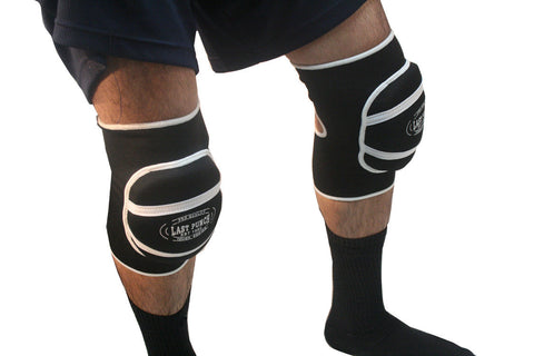 Black Professional Protective Knee Pads