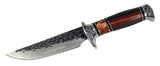 "12"" Hunt-Down Decorative Sporting Hunting Knife with Leather Sheath"