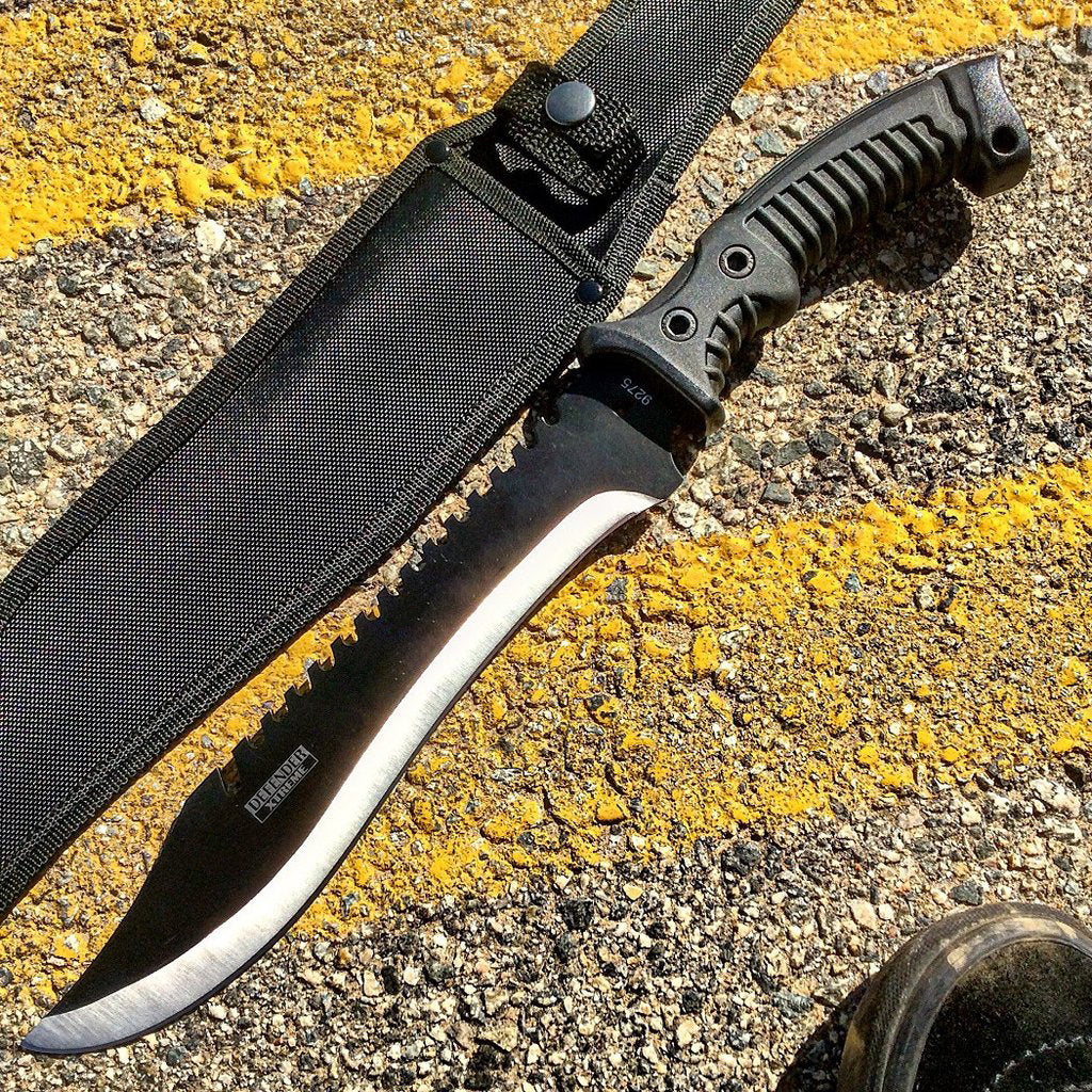 16 Quot Defender Xtreme Full Tang Hunting Tactical Knife With