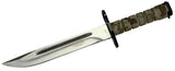 "13.5"" Desert camo Bayonet Hunting Knife with Sheath"