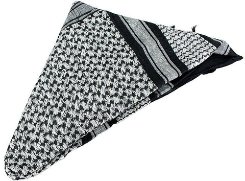 Military Lightweight Shemagh Tactical Scarf Black