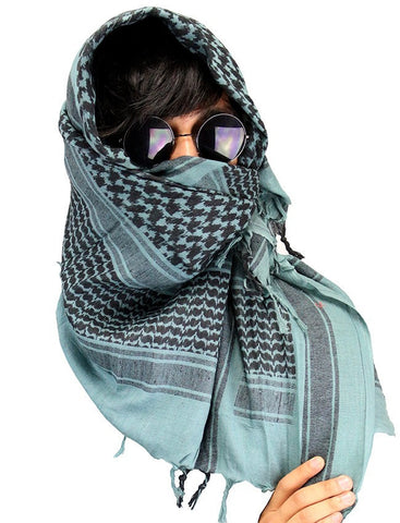 Military Lightweight Shemagh Tactical Scarf Teal