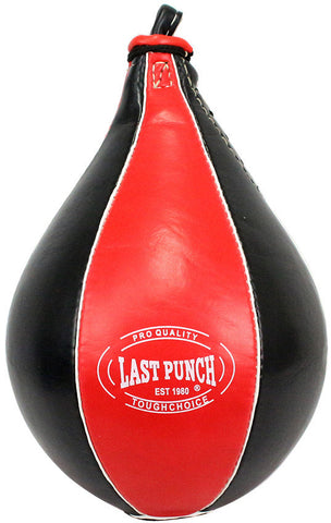 Last Punch Red And Black Single Swivel Speed Ball