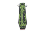 "9.5"" Hunt Down Coffin Handle with USA/Green M16 Design Spring Assisted Knife"