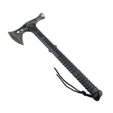 "Defender Deluxe 15"" Stonewash Blade Hunting Axe with Sheath Outdoor Camping Axe"