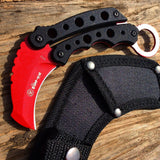 "6"" Hunting Tactical Survival Kinfe Sharp Blade in Mixed Colors Combat Rescue New"