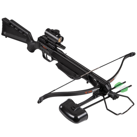 "Barnett Wildgame XR250B Black Crossbow 175 Lbs With 18"" Two Arrows"