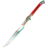 "28"" Zomb-War Full Tang Stainless Steel Swords Multi Color"