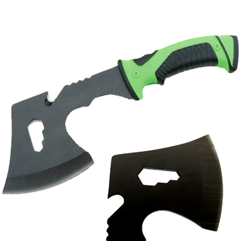 "Defender Multi Purpose Camping Steel Hunting Tactical Survival 11"" Steel Axe with Nylon Sheath"