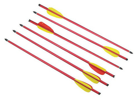 "16"" Long Metal Hunting Arrows Aluminum Body 2219 Power"