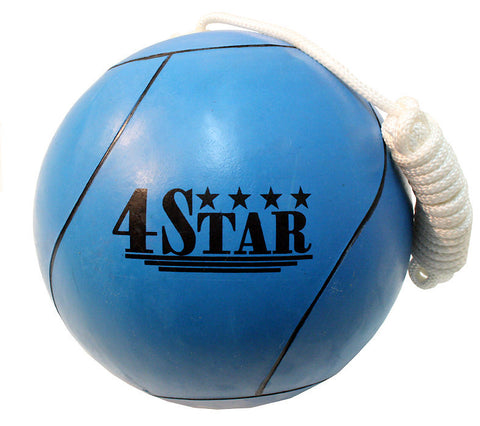 New Blue Tether Ball for Play Grounds & Picnics with Rope