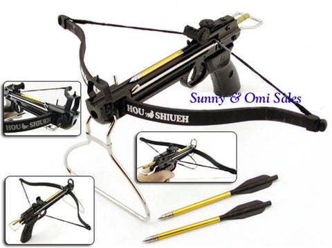 80 Lbs Metal Crossbow with 15 arrows