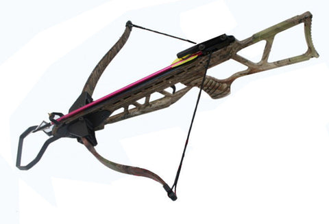 MK-180 Camo Hunting Metal Crossbow Foldable Stock