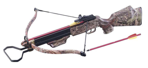150 Lbs camouflage Hunting Crossbow +Scope + Pack of Arrows