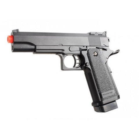 G6 Airsoft Black Handgun Pistol Zinc Alloy Shell with Laser