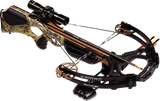 "Barnett Ghost 385 CRT Crossbow 185 lbs Pkg w/Scope,Quiver,20""Arrows"