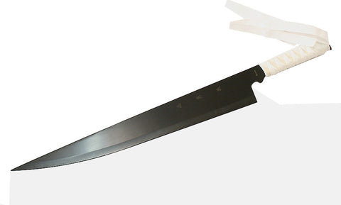 "Defender High Quality 28"" Fantasy Sword with Sheath Black Blade Ninja Sword New"