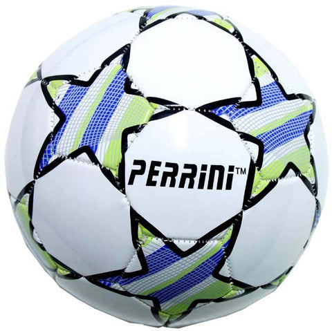 Indoor Outdoor White & Purple Color Soccer Ball Size 5