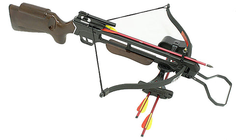 150lbs Hunting Crossbow Pre Strung Cross Bow With Quiver