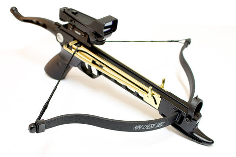 80lbs Crossbow + Red Dot Scope + Metal Cobra Cross Bow