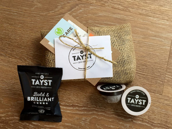 eco friendly coffee tayst compostable pod