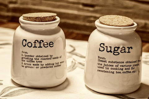 coffee sugar containers