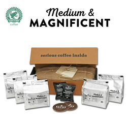 Medium & Magnificent Coffee