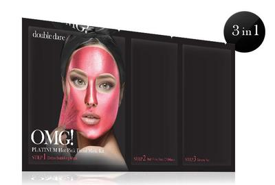 OMG! PLATINUM HOT PINK FACIAL MASK KIT