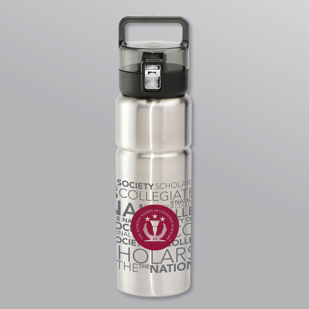 Water Bottle — SILVER
