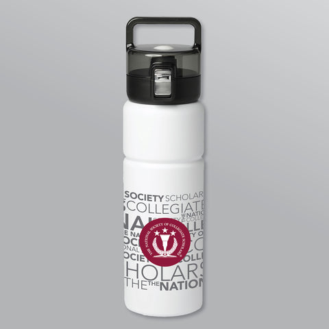 Water Bottle — WHITE