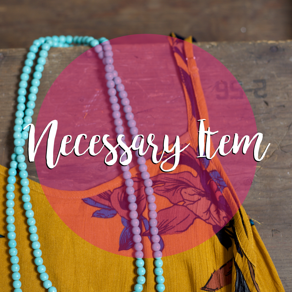 Necessary Item | Wear This Necklace with Everything!