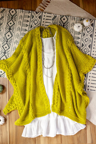 Rope Knit Wrap