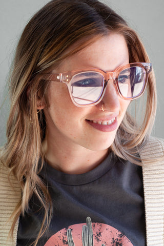 Pink Bluelight Glasses