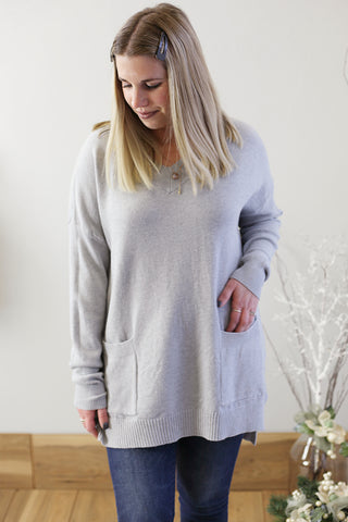 Pocket Front Sweater