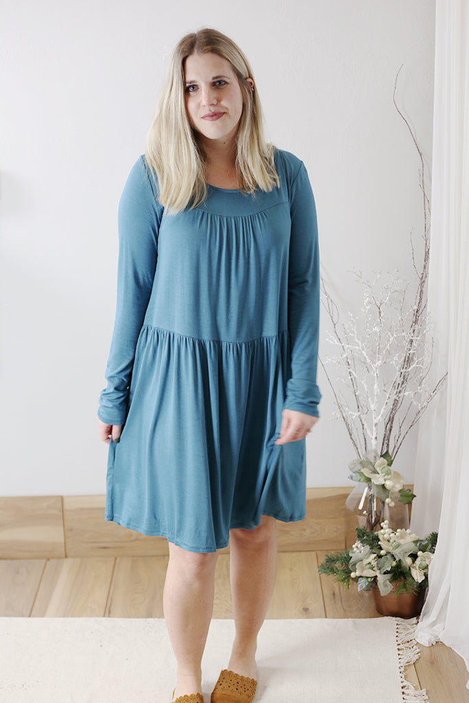 Tiered Bamboo Dress