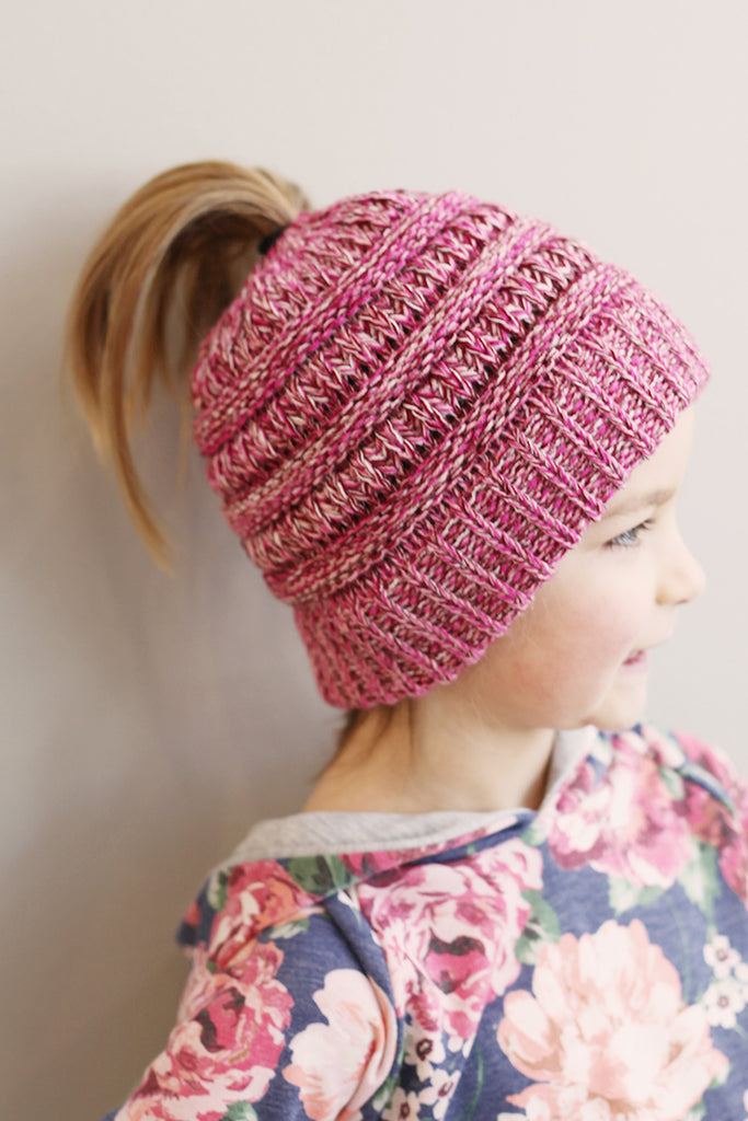 Girl's Ponytail C.C. Hat