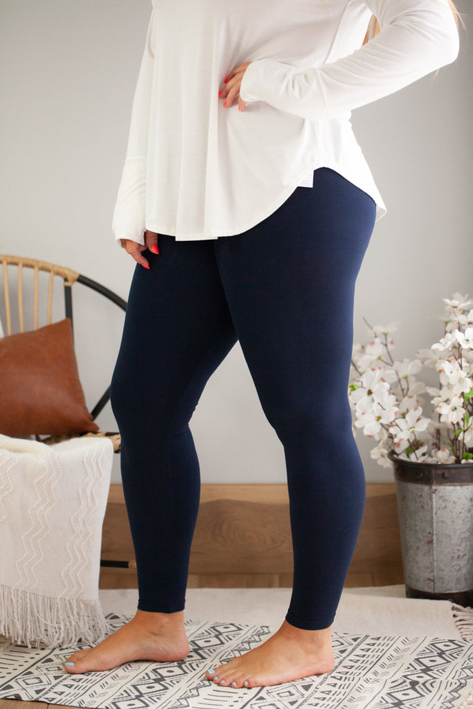 PLUS High Waist Long Legging