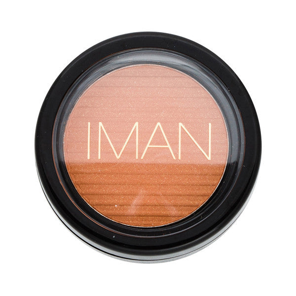 IMAN COSMETICS Blush Powder Sunlit Copper