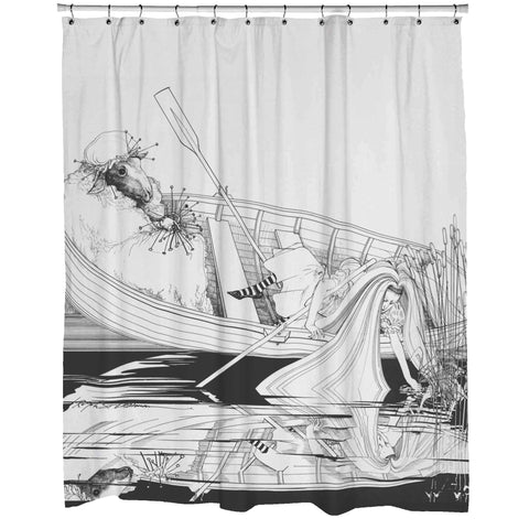 Alice Shower Curtain