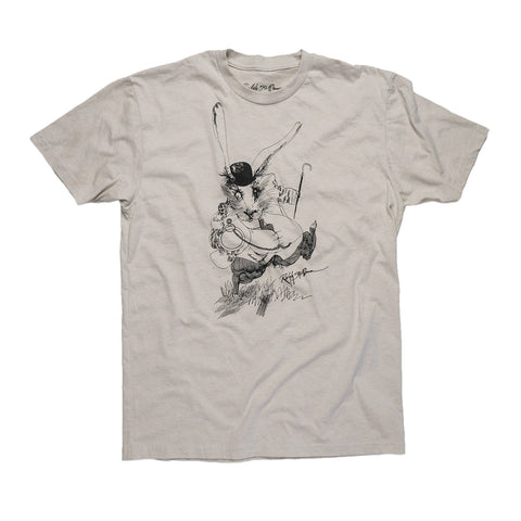 Ralph Steadman White Rabbit Tee Shirt