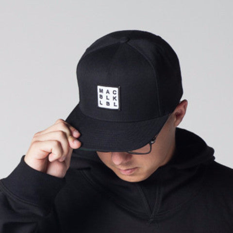MAC BLK Black Hat w/ Small Logo