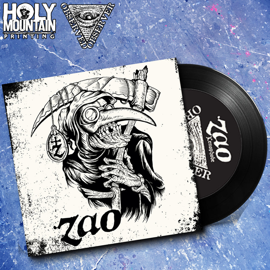 "ZAO ""XENOPHOBE / FEAR ITSELF"" 7"" ALONE"